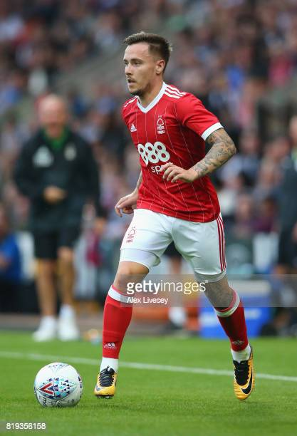 Barrie McKay of Nottingham Forest in action during a preseason friendly match between Notts County and Nottingham Forest at Meadow Lane on July 19...