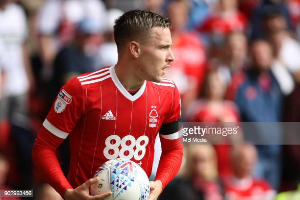 Barrie McKay prepares to take a corner during the first half of the EFL fixture between Nottingham Forest and Middlesborough at The City Ground...