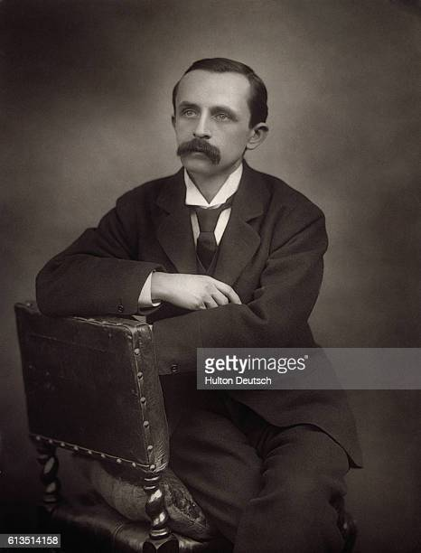 J M Barrie the Scottish novelist and dramatist His novels include A Window in Thrums and The Little Minister From 1890 onwards he wrote for the the...
