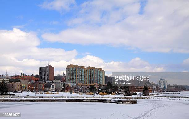barrie waterfront - barrie stock pictures, royalty-free photos & images