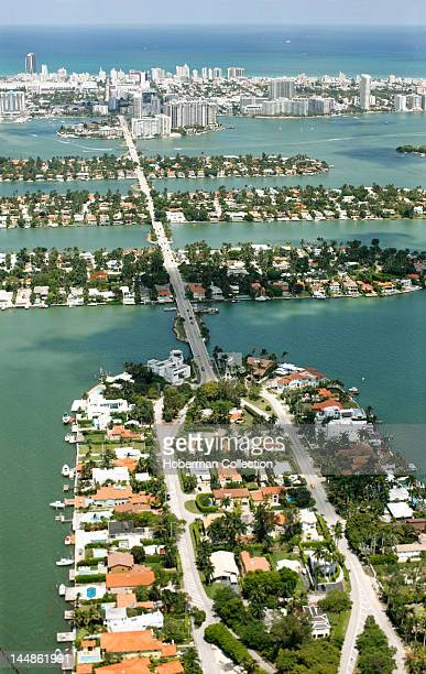 Barrier Islands and Connecting Road, Miami Beach
