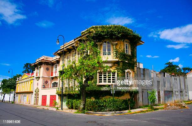 barrio amon - costa rica stock photos and pictures