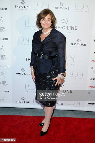Barrister Cherie Blair attends Women Empowering Women Luncheon And Fashion Show At The UN For LDNY Festival Launch on September 22 2014 in New York...