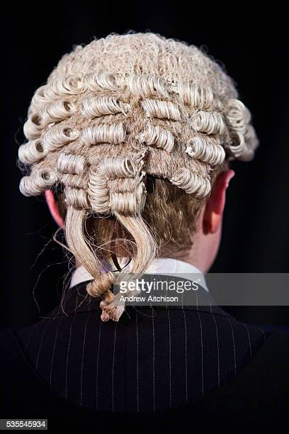 Barrister wearing the wig that is worn in all crown courts in England. In Britain and most Commonwealth nations, special wigs are also worn by...