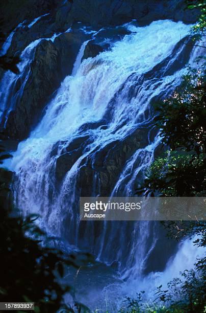Barron Falls on the Barron River, after rain. Near Kuranda, Atherton Tablelands, Queensland, Australia.