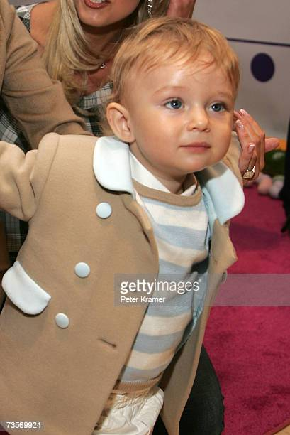 Barron Trump attends the 16th Annual Bunny Hop at FAO Schwartz to benefit the Memorial SloanKettering Cancer Center March 13 2007 in New York City