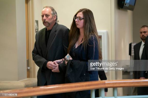 Jake Patterson's family left the courthouse after the sentencing of Patterson the murder of James and Denise Closs and abduction of Jayme Closs at...