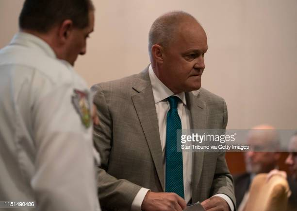 Lawyer Chris Gramstrup got up after he read a statement by Jayme Closs at sentencing of Jake Patterson for the murder of James and Denise Closs and...