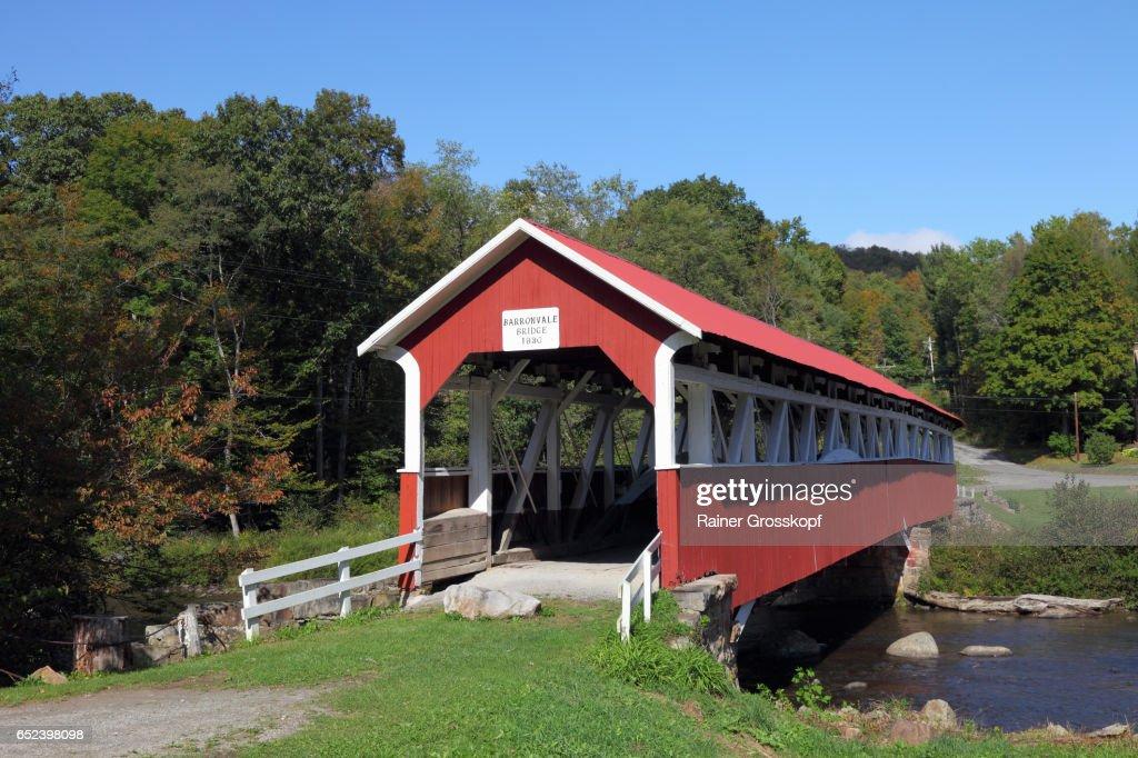 Barronvale Covered Bridge (1830) : Stock-Foto