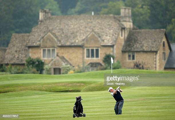 Barry Anderton of Crane Valley Golf Club during the Golfplan Insurance PGA ProCaptain Challenge West Regional Qualifier at Bowood House on September...
