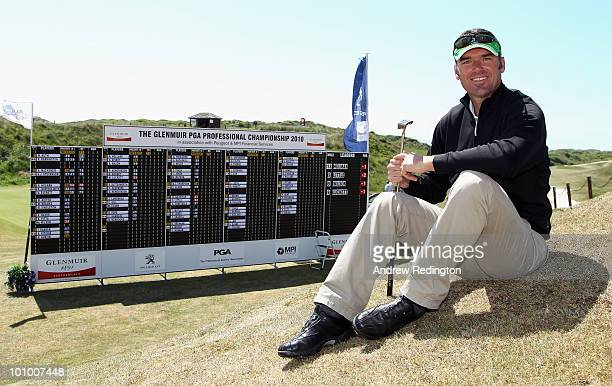 Barry Austin of Downes Crediton poses for a photograph after playing in the Glenmuir PGA Professional Championship Regional Qualifier at Saunton Golf...