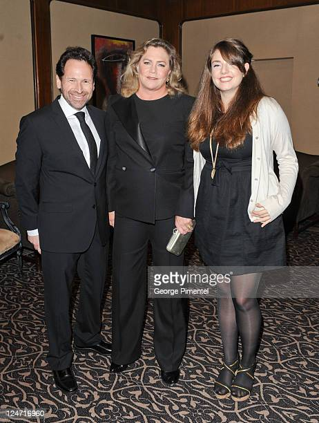 Barry Avrich, Kathleen Turner and Rachel Weiss attend the Best Buddies Gala at Four Seasons Hotel on September 10, 2011 in Toronto, Canada.