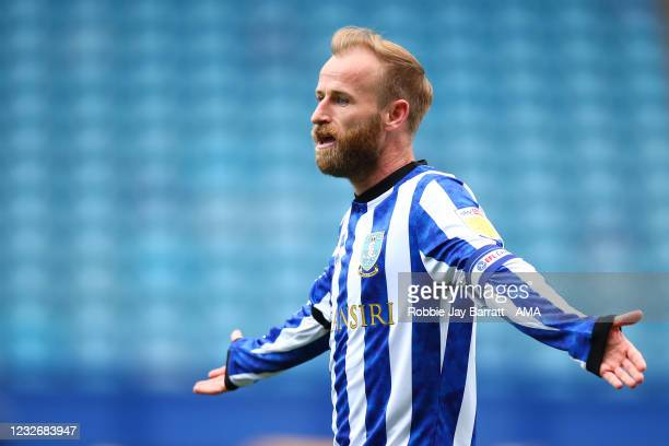 Barry Bannan of Sheffield Wednesday during the Sky Bet Championship match between Sheffield Wednesday and Nottingham Forest at Hillsborough Stadium...
