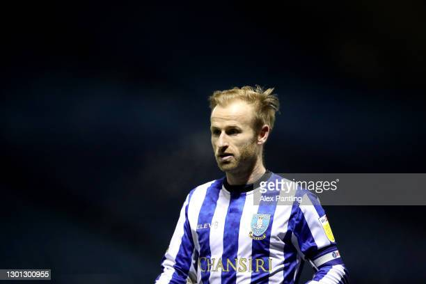 Barry Bannan of Sheffield Wednesday during the Sky Bet Championship match between Sheffield Wednesday and Wycombe Wanderers at Hillsborough Stadium...
