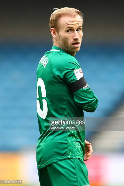 Barry Bannan of Sheffield Wednesday looks on during the Sky Bet Championship match between Millwall and Sheffield Wednesday at The Den on February...