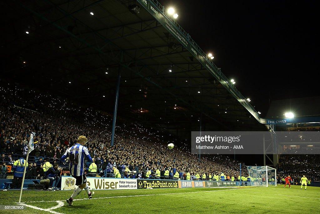 Sheffield Wednesday v Brighton & Hove Albion - Sky Bet Championship Play Off: First Leg : News Photo