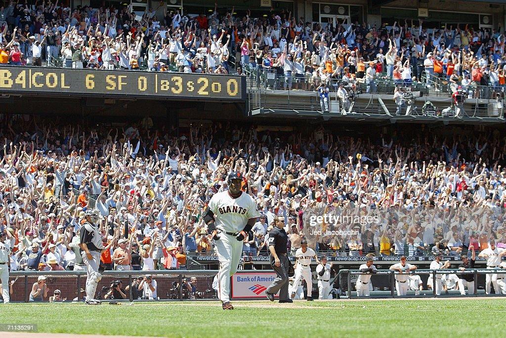 Colorado Rockies v San Francisco Giants : News Photo