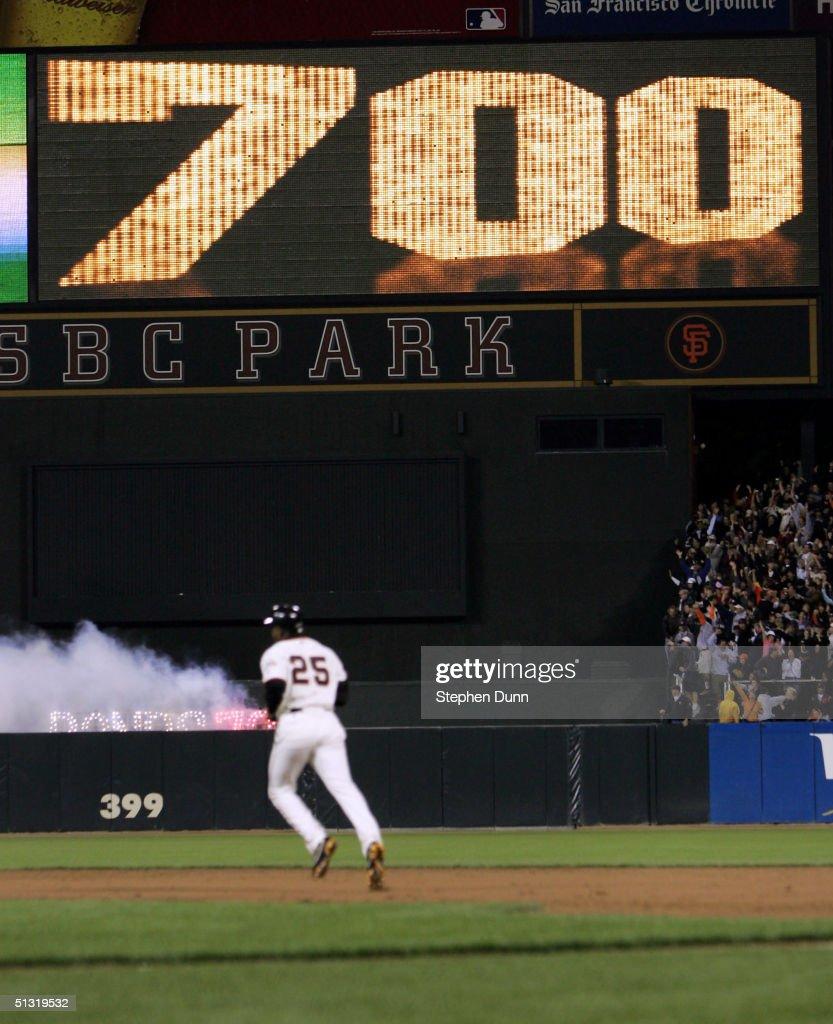 Padres v Giants : ニュース写真