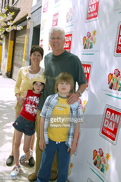 Barry Bostwick and family during 11th Annual Kids for Kids Celebrity Carnival to Benefit the Elizabeth Glaser Pediatric AIDS Foundation Inside at...