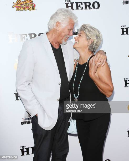 Barry Bostwick and Sherri Jensen Bostwick arrive at the Los Angeles premiere of The Hero held at the Egyptian Theatre on June 5 2017 in Hollywood...