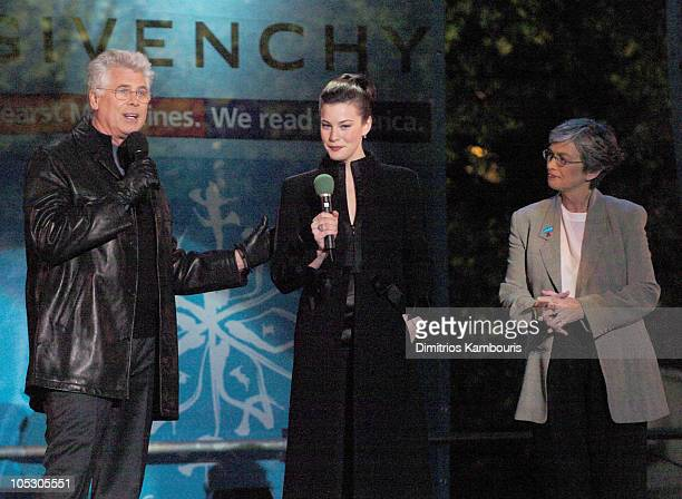 Barry Bostwick Liv Tyler and Judy Collins Unicef Goodwill Ambassador