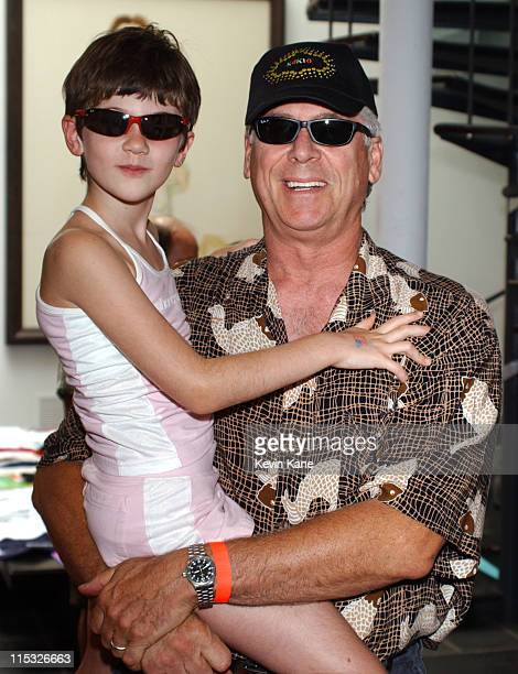 Barry Bostwick with daughter Cheleise during Ray Ban at the 10th Annual Kids for Kids Celebrity Carnival to benefit the Elizabeth Glaser Pediatric...