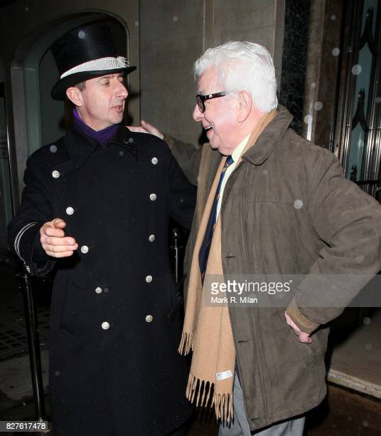 Barry Cryer attends the Radio Times Covers Party at Claridges Hotel on January 29 2013 in London England