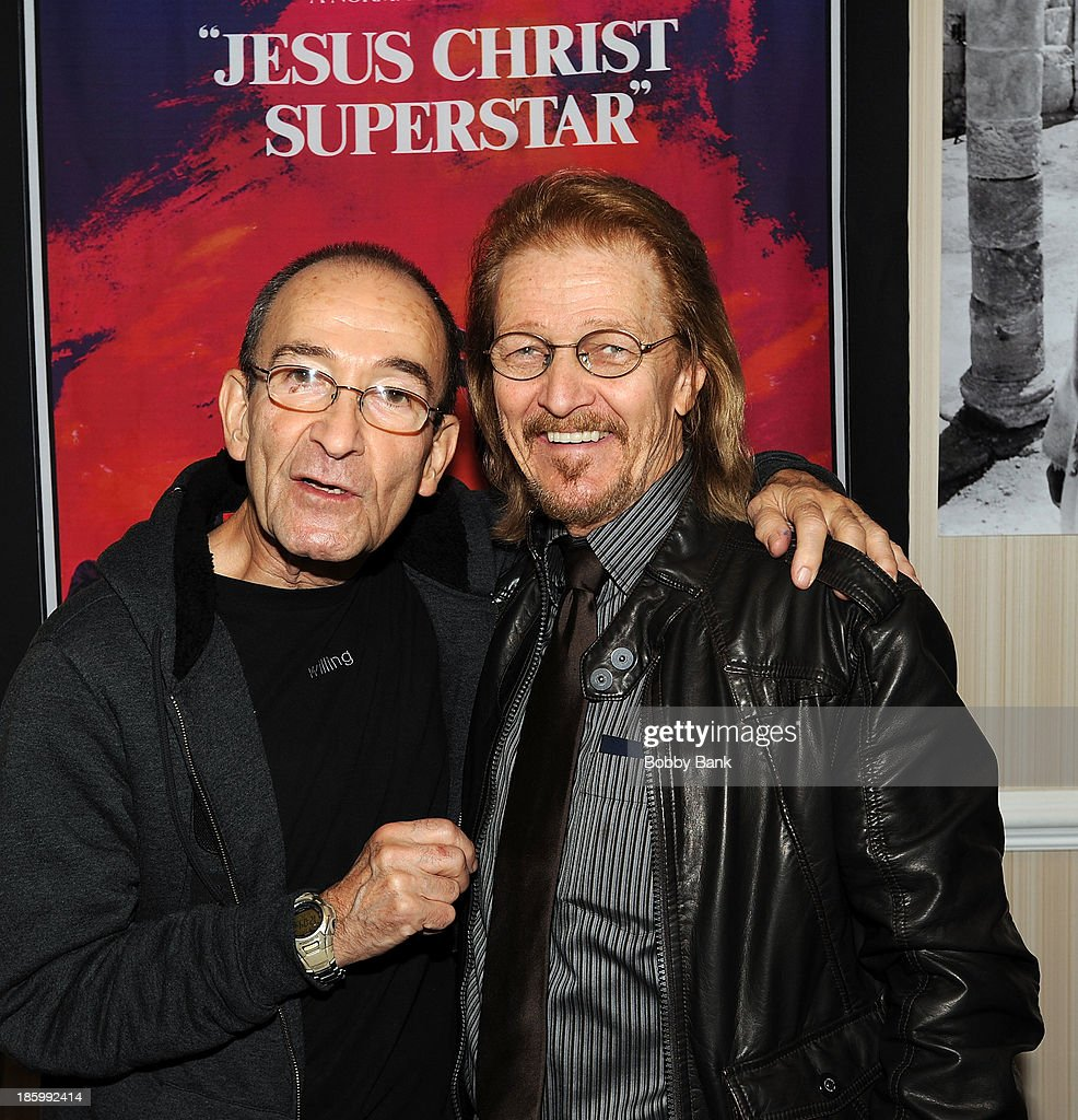 Barry Dennen and Ted Neeley attends the Chiller Theatre Expo at Sheraton Parsippany Hotel on October 26, 2013 in Parsippany, New Jersey.