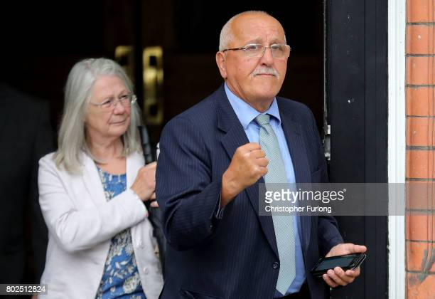 Barry Devonside reacts after the families of the 96 Hillsborough victims were told the decision that the Crown Prosecution Service will proceed with...