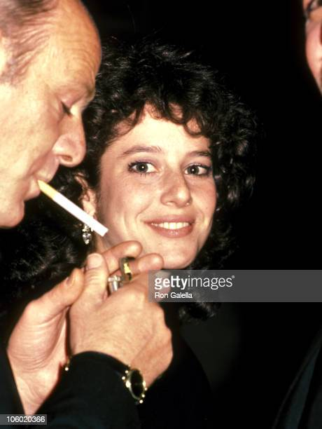 Barry Diller and Debra Winger during 36th Annual Directors Guild of America Awards at Bevery Hilton Hotel in Beverly Hills California United States