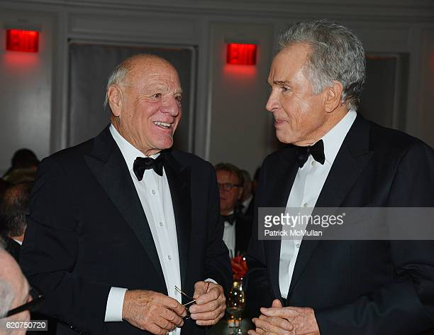 Barry Diller and Warren Beatty attend the Museum Of The Moving Image 30th Annual Salute Honoring Warren Beatty at 583 Park Avenue on November 2 2016...