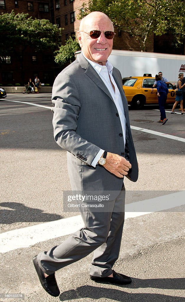 Barry Diller attend 2014 Mercedes-Benz Fashion Week during day 4 on September 8, 2013 in New York City.