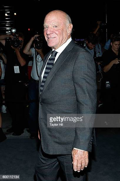 Barry Diller attends the Tom Ford Fall 2016 fashion show at The Four Seasons on September 7 2016 in New York City
