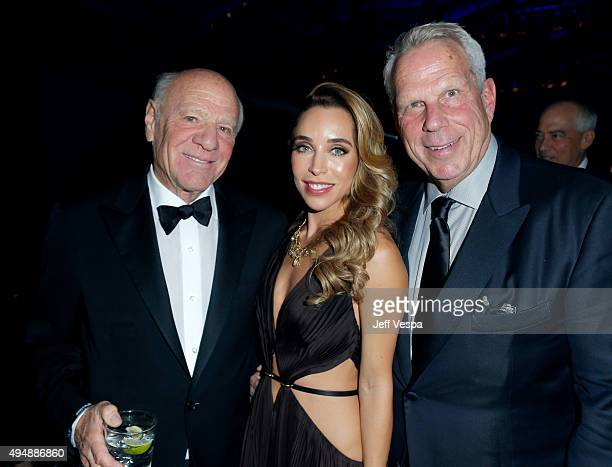 Barry Diller Katia Francesconi and Chairman and Executive Vice President of the New York Giants/film producer Steve Tisch attend amfAR's Inspiration...