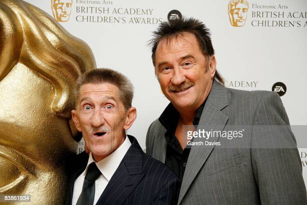 Barry Elliot and Paul Elliot aka The Chuckle Brothers arrive at the British Academy Children's Film and Television awards at the London Park Lane...
