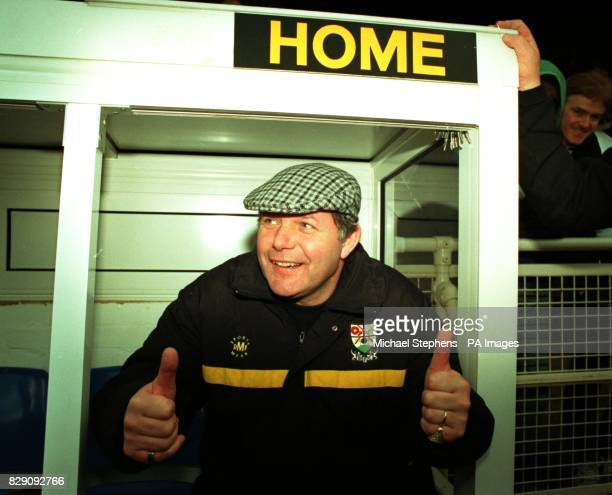 Barry Fry manager of Southend FC formerly with Barnet