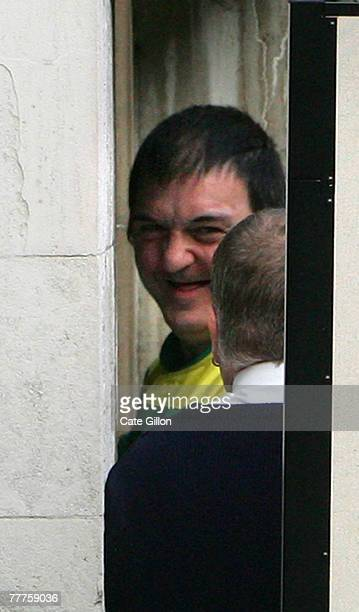 Barry George enters the High Court on the last day of the appeal against his conviction on November 7 2007 in London England Barry George is making...