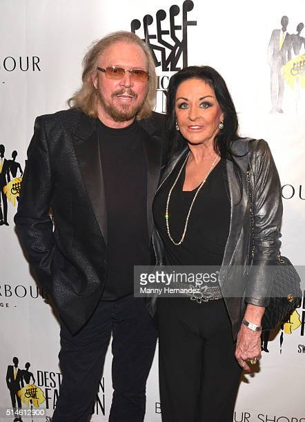 Barry Gibb and Linda Gibb attends Destination Fashion 2016 to benefit The Buoniconti Fund to Cure Paralysis, the fundraising arm of The Miami Project...