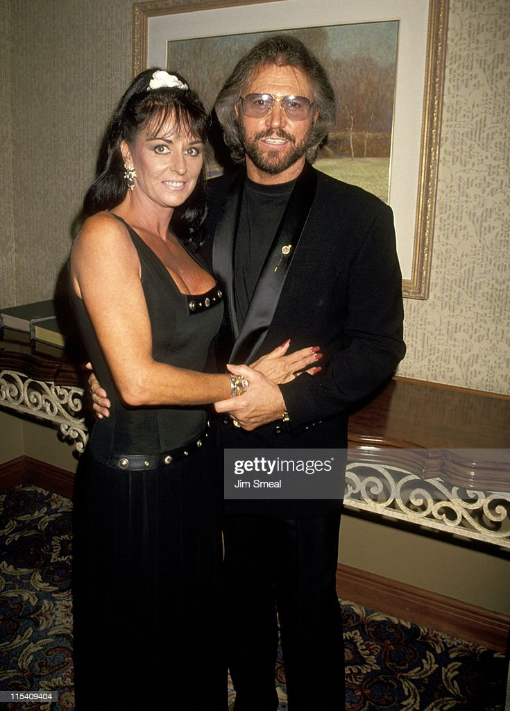 Barry Gibb and Wife Linda Ann Gray during 25th Annual Songwriters Hall of Fame Awards Dinner and Ceremony at Sheraton Hotel in New York, New York, United States.