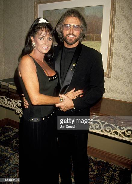 Barry Gibb and Wife Linda Ann Gray during 25th Annual Songwriters Hall of Fame Awards Dinner and Ceremony at Sheraton Hotel in New York New York...