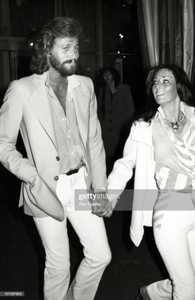 Barry Gibb and Wife Linda Ann Gray Sighting at the Hilton Hotel in Beverly