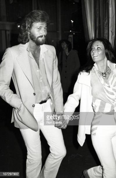 Barry Gibb and wife Linda Ann Gray during Barry Gibb and Wife Linda Ann Gray Sighting at the Hilton Hotel in Beverly Hills February 8 1980 at Hilton...
