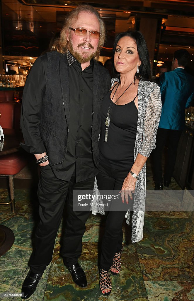 Barry Gibb (L) and wife Linda Gibb attend the Sony Music UK Summer Party at Sexy Fish on July 13, 2016 in London, England.