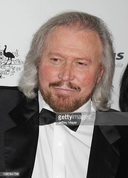Barry Gibb arrives at the G'Day USA Australia Week 2011 Black Tie Gala at Hollywood Palladium on January 22 2011 in Hollywood California