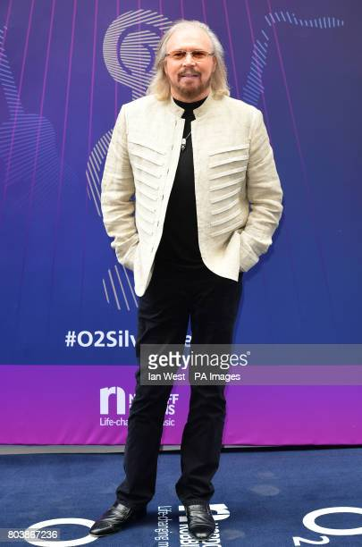 Barry Gibb attending the O2 Silver Clef Awards 2017 with the support of Nordoff Robbins held at the Grosvenor House Hotel London PRESS ASSOCIATION...