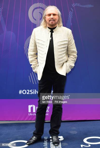 Barry Gibb attending the O2 Silver Clef Awards 2017 with the support of Nordoff Robbins held at the Grosvenor House Hotel London