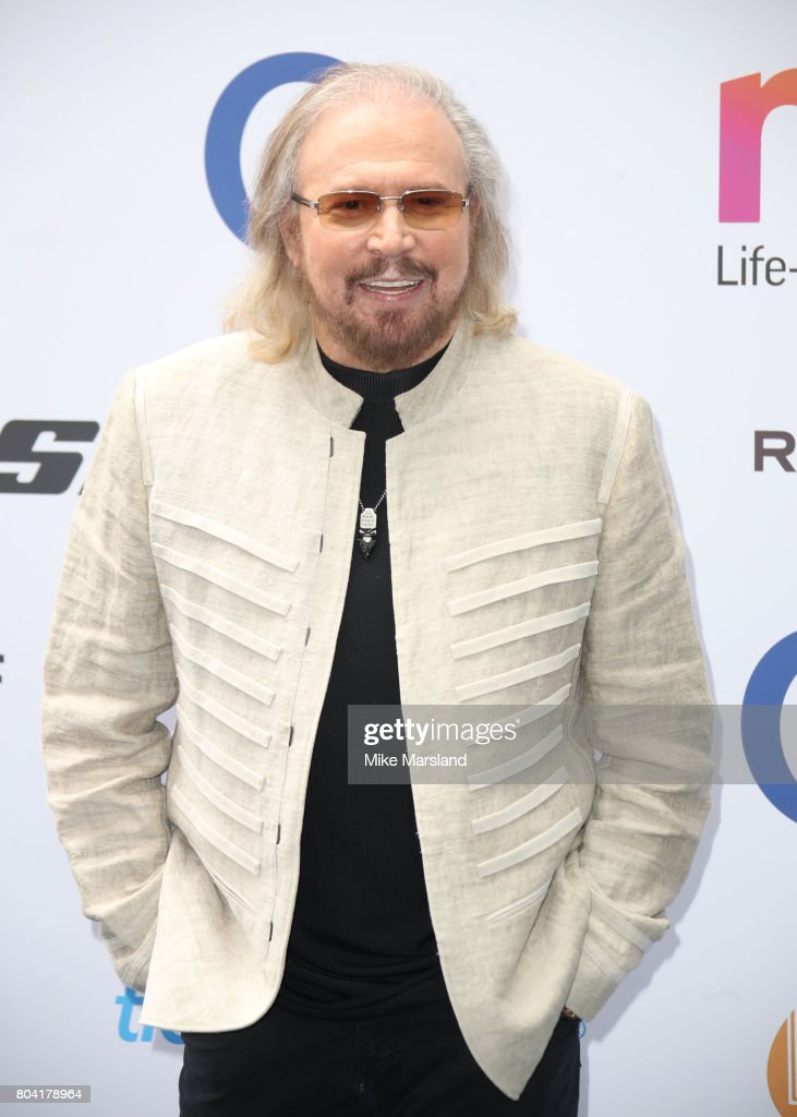 Barry Gibb attends Nordoff Robbins O2 Silver Clef awards at The Grosvenor House Hotel on June 30, 2017 in London, England.