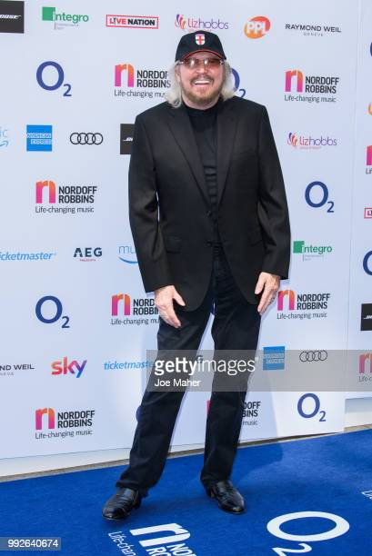 Barry Gibb attends the Nordoff Robbins O2 Silver Clef Awards 2018 at Grosvenor House on July 6 2018 in London England