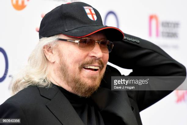 Barry Gibb attends the Nordoff Robbins' O2 Silver Clef Awards at Grosvenor House on July 6 2018 in London England