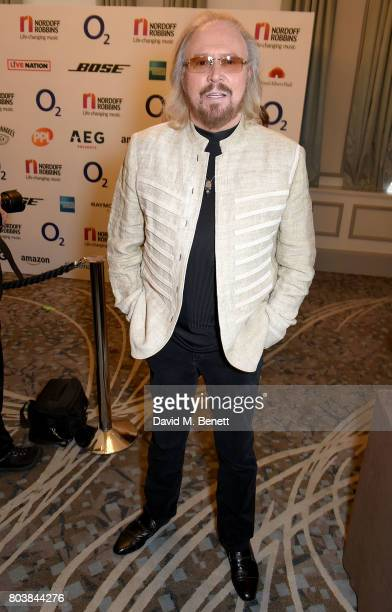 Barry Gibb attends the Nordoff Robbins O2 Silver Clef Awards at The Grosvenor House Hotel on June 30 2017 in London England